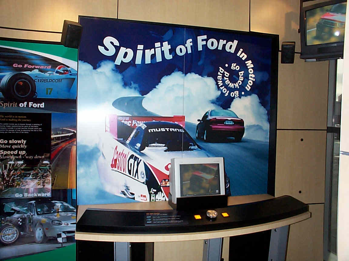Spirit Of Ford Museum Frameglide Interactive Exhibit